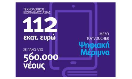 Ψηφιακή Μέριμνα – Voucher 200€ για την αγορά τεχνολογικού εξοπλισμού